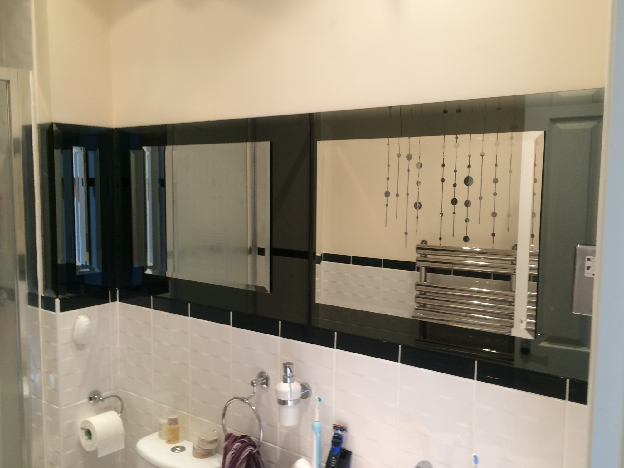 Bevelled Glass Mirrors