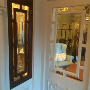 Bevelled Glass Door Leaflets